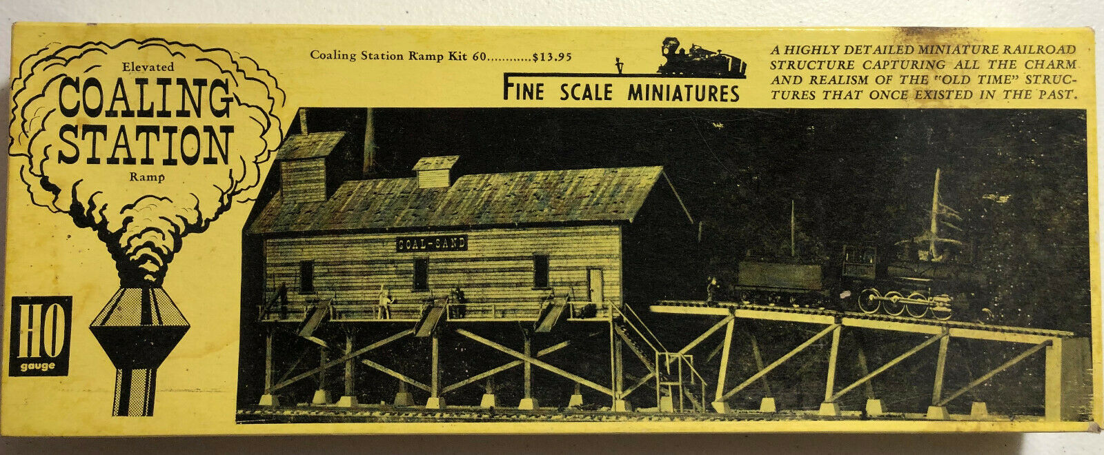 FINE SCALE MINIATURES  FSM -  Elevated Coaling Station Ramp  HO SCALE