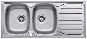Universal Overflow Franke 133.0043.295 Waste Kit 1 1//2/'/' Waste w//Plug /& Chain