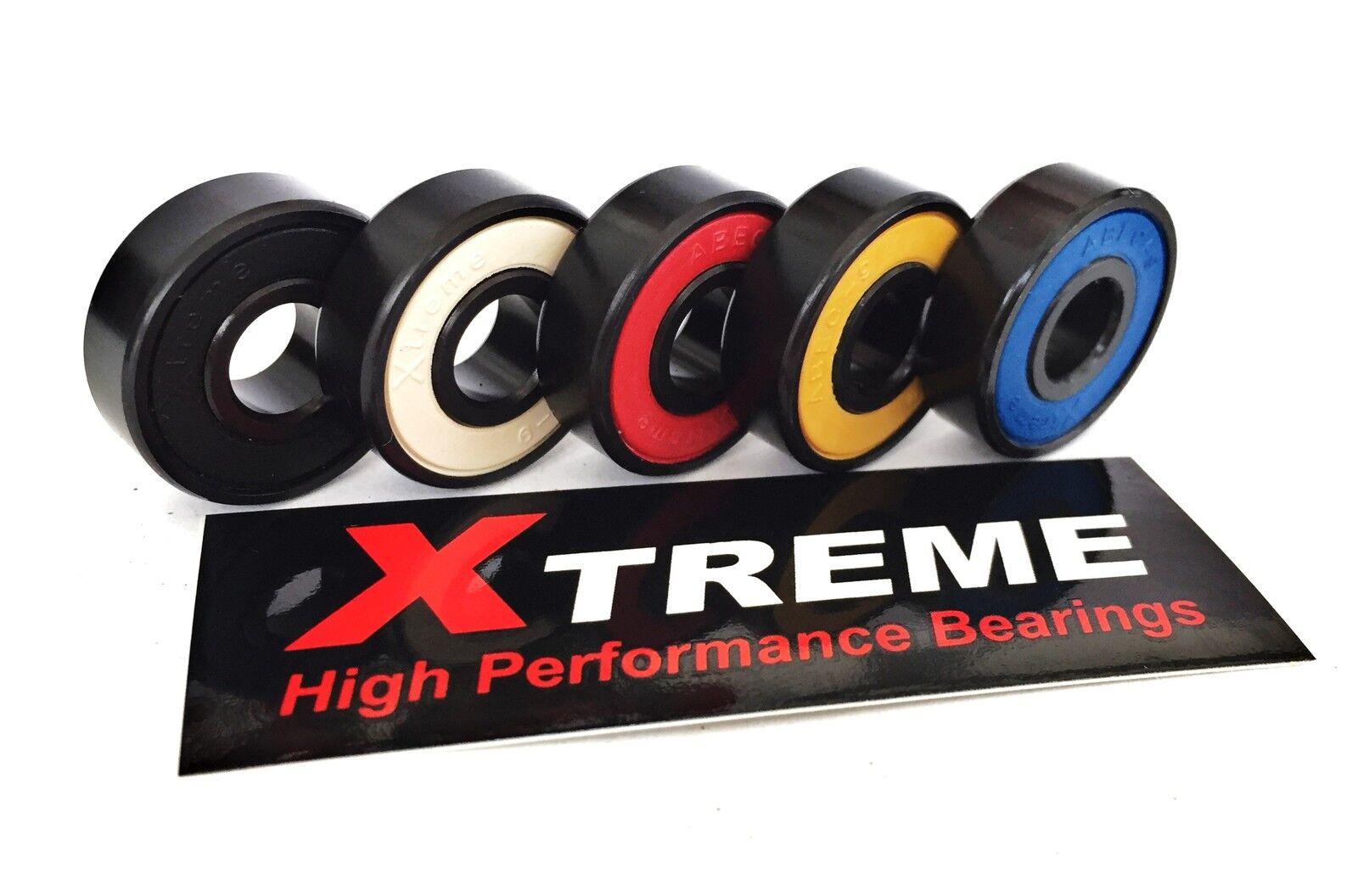 véritable Abec 9 9 Abec XTREME Haute Performance Roulement à billes Skateboard Scooter 3ad07e