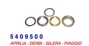 5409500 Serie Calotte Sterzo Superiore Gilera Easy Moving 50 95-96 Hccgu1ay-07222327-406045571