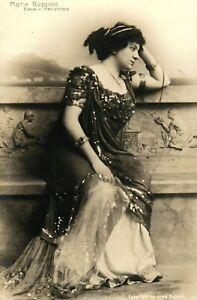 C-1900-RPPC-Marie-Rappold-Singer-Actress-Postcard-F30