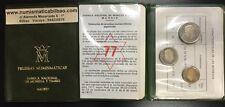 ESPAÑA CARTERA FNMT 1977 PROOF 1+5+25 PESETAS 1975 * 77 PRUEBAS NUMISMATICAS