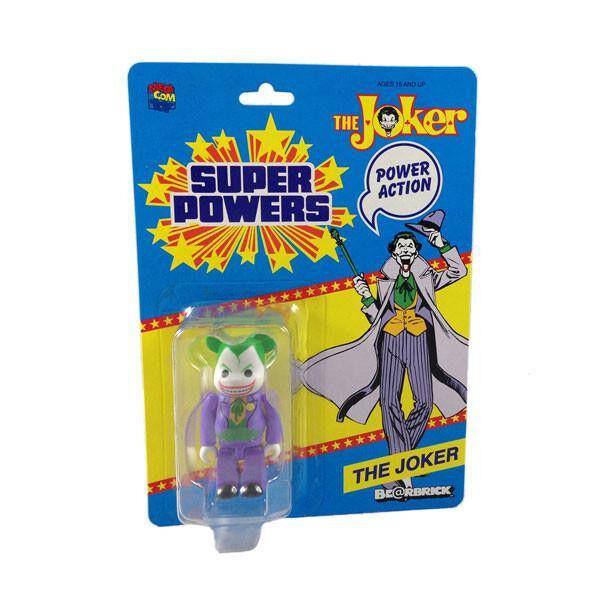 Medicom DC súper poderes  Joker Bearbrick Sdcc 2014 Edición Figura De Acción