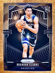 Brandon-Clarke-2019-Panini-Prizm-Basketball-Rookie-No-266-Grizzlies-SP-RC