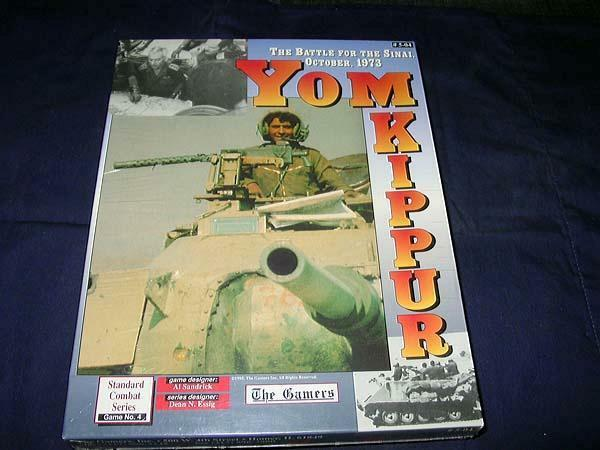 The Gamers 1995 - Yom Kippur game - Battle for Sinai, October, 1973 (SEALED)