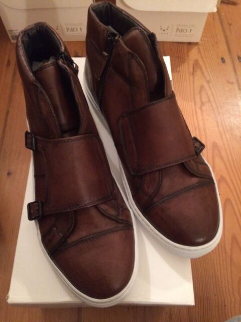 Pantofola D'Oro PdO1 Falcao mid Harold Moro Brown Size 40 UK7
