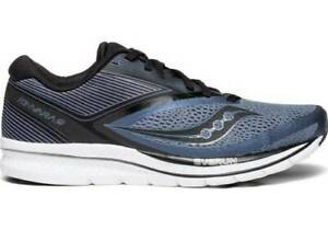 e96fd1d5e9475 Saucony Kinvara 9 Blue Grey Black Mens Running Shoes. New In Box