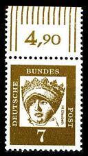 BUND bed. Deutsche (x)   7 Pf, (Mi. 348) ** Oberrandmarke Luxus