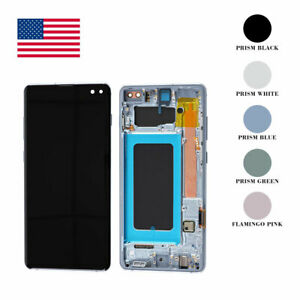 For Samsung Galaxy S21 20 FE 10e S9 S8 S7Edge Plus Ultra Note LCD Display Screen