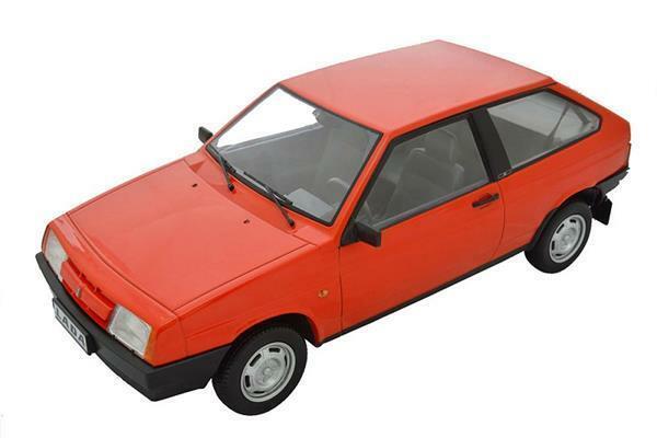 Premium scale models Lada 2108 Samara 1985 Ruby Red 1 18 DC18003C