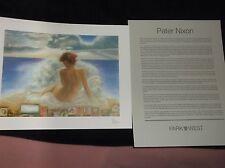 "PETER NIXON-""VENUS ANADYOMENE""-SERIOLITHOGRAPH W/CERT OF AUTH-PARK WEST GALLERY"