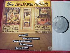 V.A. - Hier spricht ( singt ) man deutsch       German Jupiter  LP