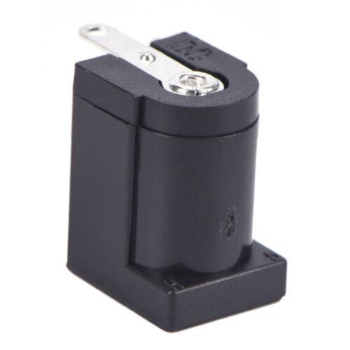 10x DC-005 Black Power Jack Socket Connector 5.5*2.1mm Socket Round The Needle M