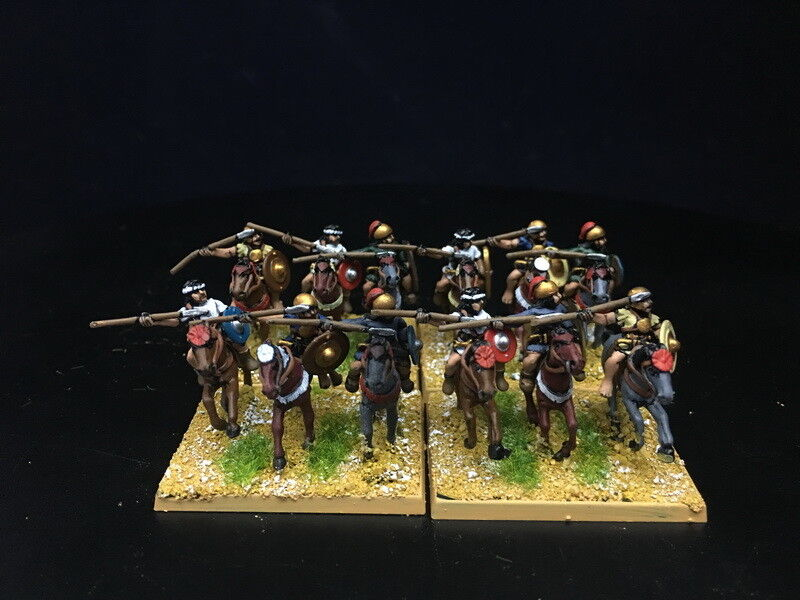 15mm Ancient DBA DBMM DPS painted Spanish cavalry  RC928