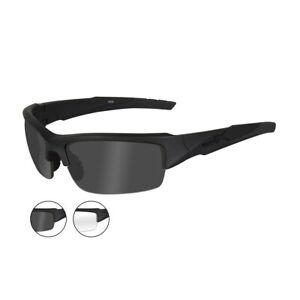 Wiley-X-CHVAL07-Valor-Smoke-Grey-Clear-Lenses-Matte-Blk-Frame-Ballistic-Sunglass