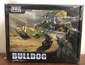a la venta Transformers Transformers Transformers Jugueteworld TW-FS01 Bulldog ss proporción de aleación antiguo pintado en existencias   distribución global