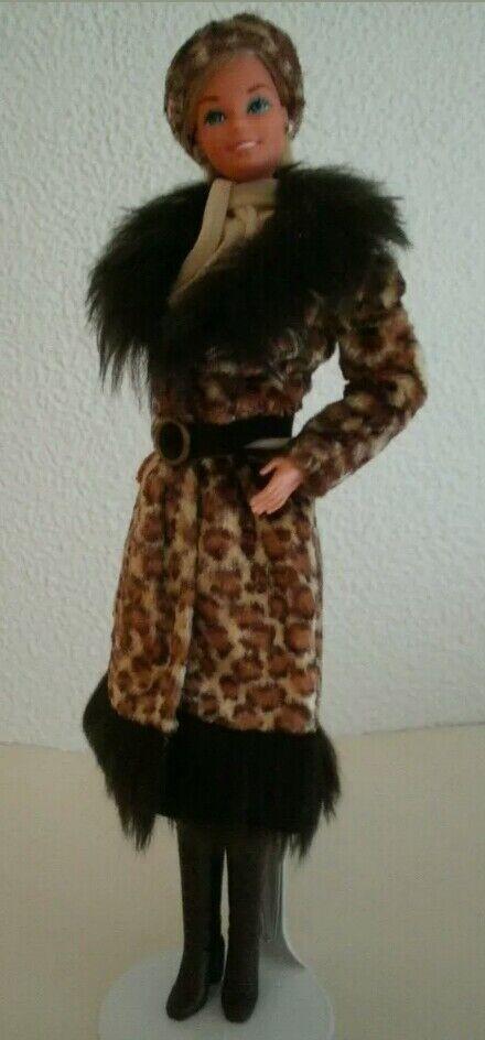 Exc+++ Barbie Superstar con rarissimo outfit anni 70 completo ottime condizioni