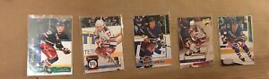 Alexei Kovalev Cards (Lot of 5) Topps Stadium Club Parkhurst New York Rangers