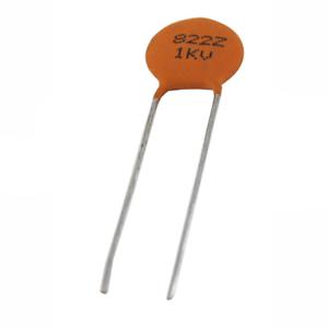 NTE Electronics 9005D6 CAPACITOR CERAMIC DISC 5.6PF 1000V //-0.5PF RADIAL LEAD