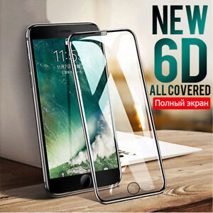Screen Protector Fr iPhone XS MAX XR XS X 6D Curved Full Coverage Tempered Glass
