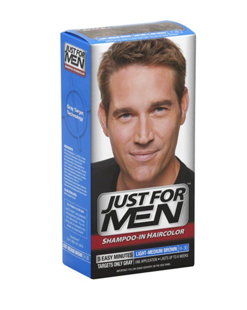 Just For Men Hair Color Light Medium Brown H30 1 Each Pack Of 9 Ebay