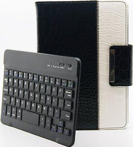 Cocodrilo-Estilo-Desmontable-Giratorio-Teclado-Bluetooth-Funda-Apple-Ipad-Mini-2