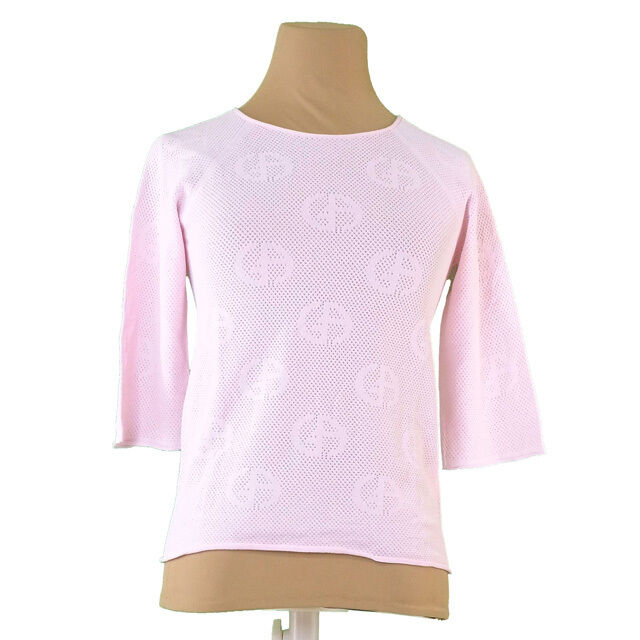 Giorgio Armani Tops Blouses Pink Woman Authentic Used T1015
