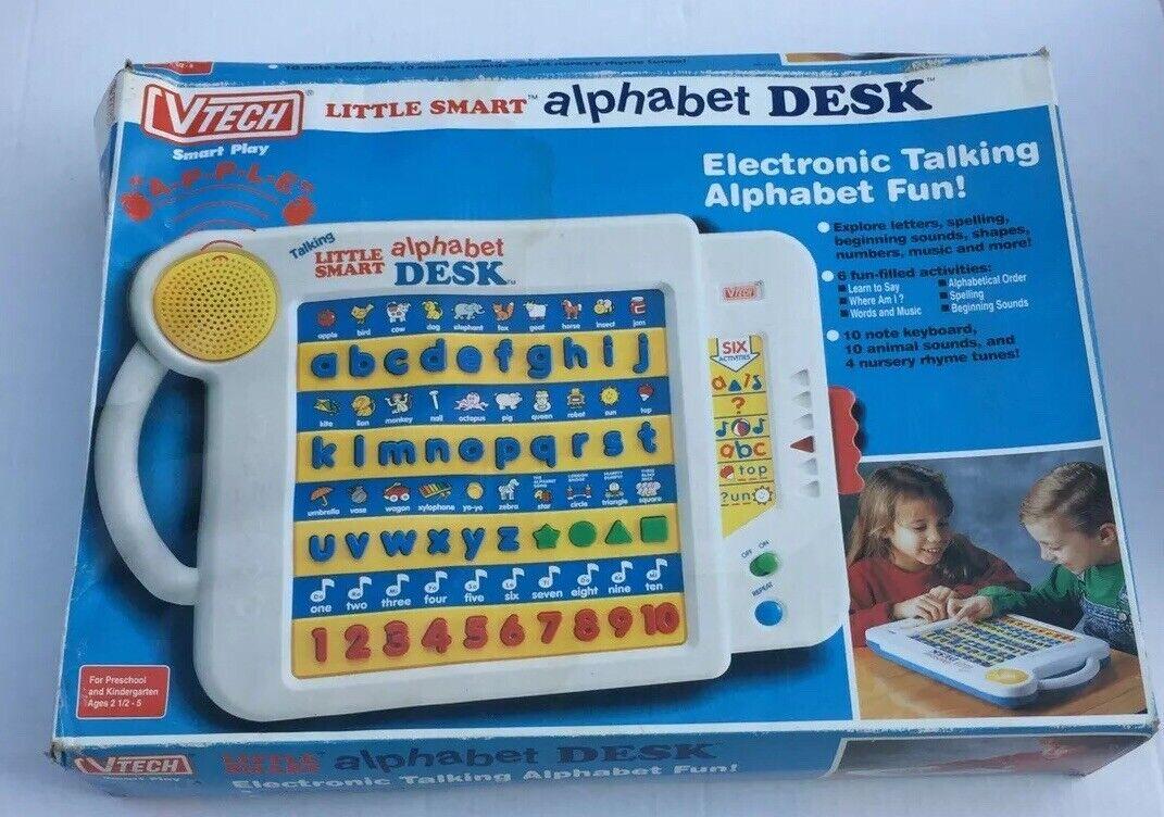 NEW Vtech Little Smart Alphabet Desk