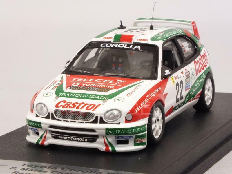 Toyota Corlla WRC Rally Portugal 2001  Chaves-Paiva 1 43 trofeu rral 71  pas de minimum