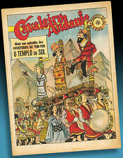 TIM & STRUPPI SONNENTEMPEL COVER TINTIN 1952 HERGÉ KUIFJE XTREMLY RARE PORTUGAL