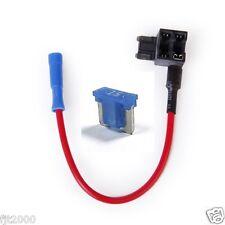 Micro Blade Mini ATM FUSE PLUG Add a circuit Fuse Block Extension + 15A Fuse