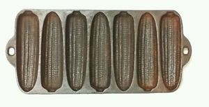 034-Cast-Iron-Corn-Bread-Pan-034-Vintage-Made-In-USA
