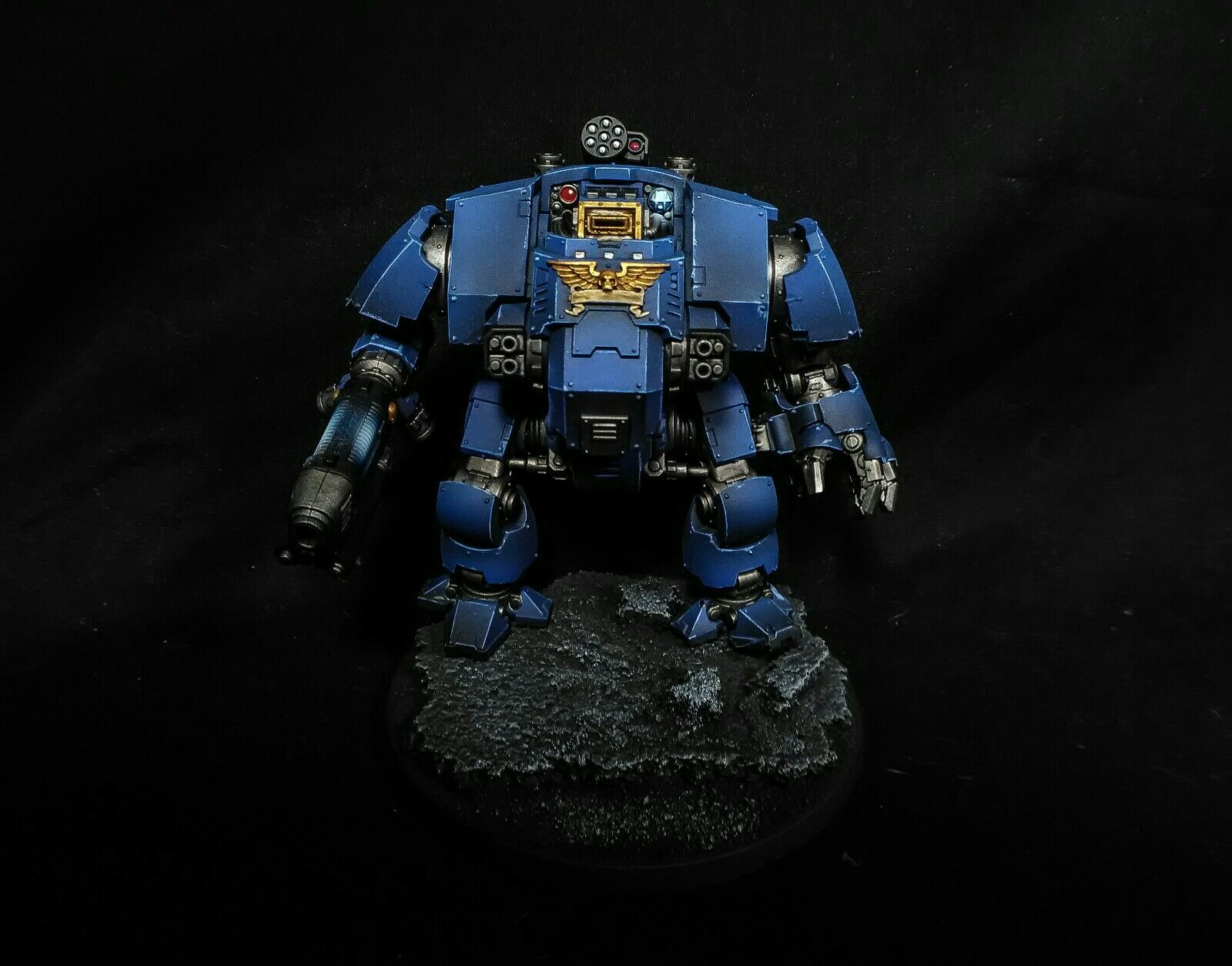 Warhammer 40k Primaris rougeemptor Dreadnought pro painted  Commission  confortable