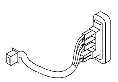 VAUXHALL SWITCH WITH CABLE GENUINE NEW 91167928