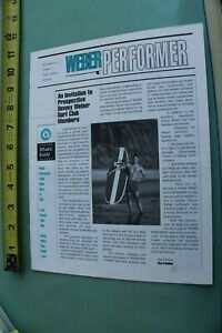 DEWEY-WEBER-Performer-Surfboards-V-1-N-1-1994-CR8-Vintage-Surfing-NEWSLETTER