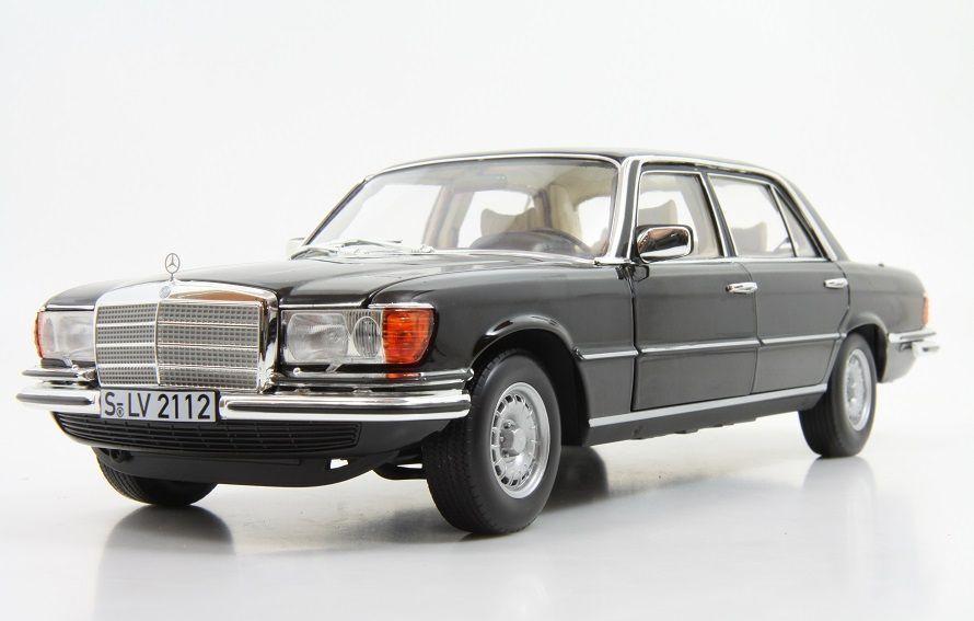 Norev 1976 MERCEDES BENZ 450 SEL 6.9 W116 couleur noire 1 18New  Super HoTT