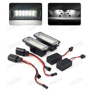 1x Seat Ibiza MK2 Bright Xenon White LED Number Plate Upgrade Light Bulb