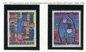 19330) UNITED NATIONS (Vienna) 1983 MNH** Hundertwasser