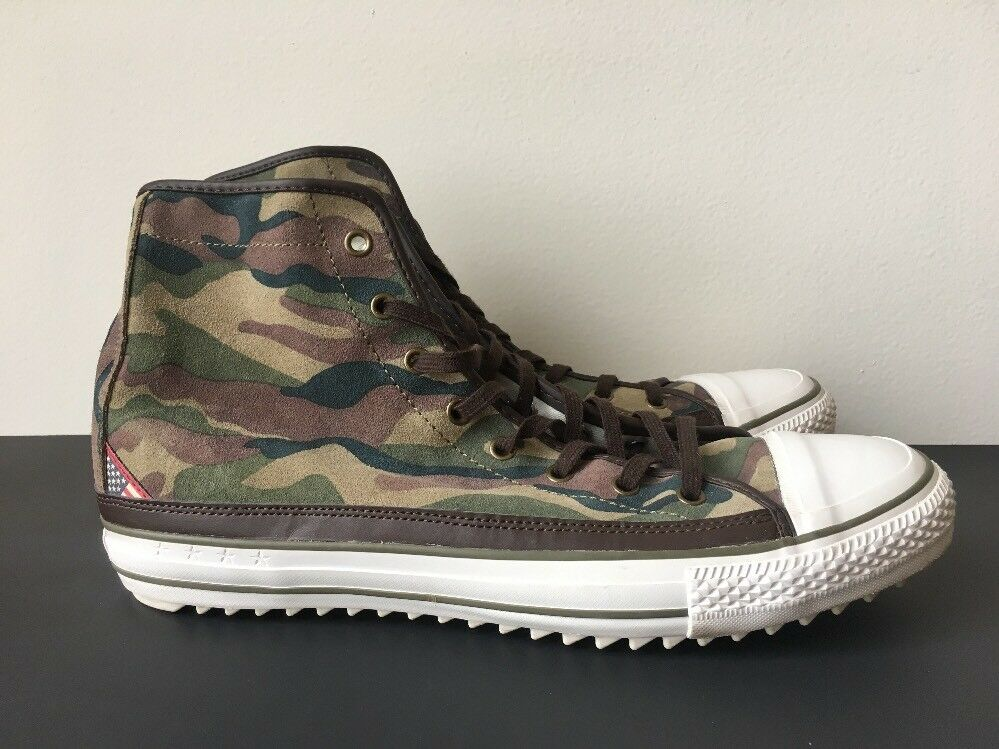 Denim & Supply Ralph Lauren Jammie Army Camouflage Hi-Top Sneaker Shoes 12