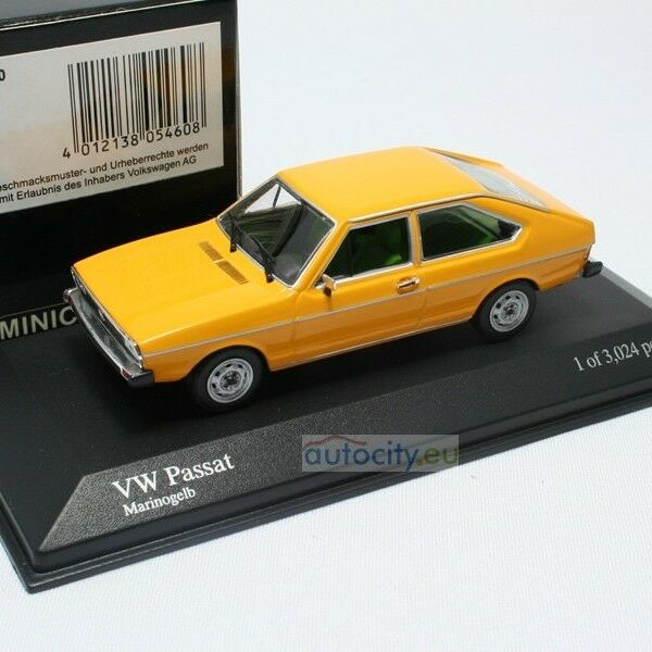 MINICHAMPS VW PASSAT MARINOgiallo 400054200