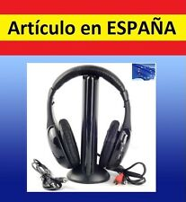 Auriculares INALAMBRICOS Stereo Wireless SADES gaming CASCOS microfono TV PC 5e1