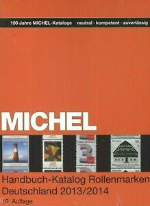 Michel-Manual-Catalog-Coil-Stamps-Germany-2013-2014-10-Edition-New