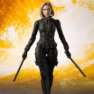 6in-Black-Widow-Action-Figure-Marvel-Avengers-Infinity-War-Natasha-PVC-Face-Toy