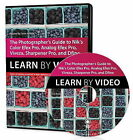 The Photographer's Guide to Color eFex Pro, Analog eFex Pro, Viveza, Sharpener Pro, and Define: Learn by Video by Sean Arbabi (DVD, 2014)