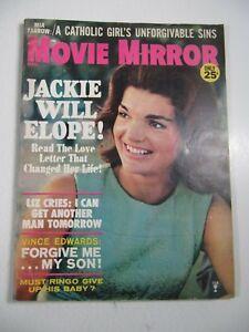 Details about Movie Mirror Magazine December 1965 Jackie Kennedy