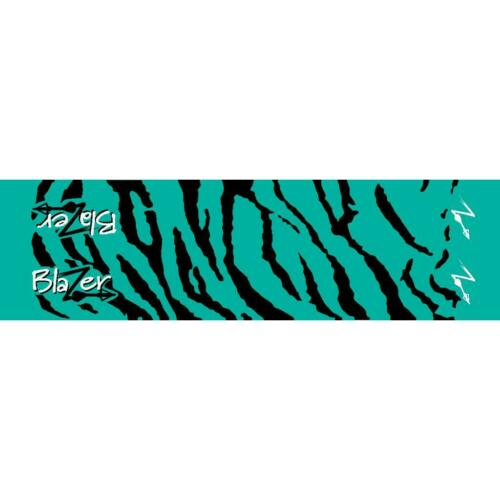 "Bohning Arrow Wrap Teal Tiger 7/"" Standard 12 Pack"
