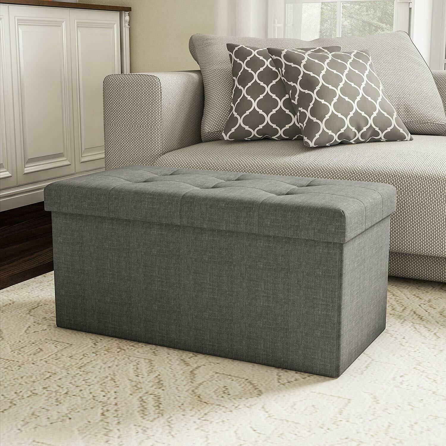 Bed Storage Bench Foldable Collapsible