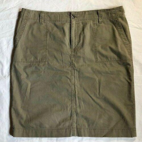 Lauren Ralph Lauren Khaki Pencil Skirt Adjustable