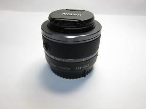 Schwarz-Nikon-1-Nikkor-10-30mm-f-3-5-5-6-VR-Zoom-Lens-Unit-fuer-J1-J2-J3-J4-V1-V2