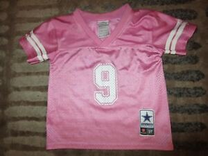 new concept 47aa9 bf23c pink cowboys jersey for toddlers